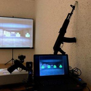 """Интерактивный лазерный тир для ГТО """"ТИР ЭЛЕКТРОН"""" купить."""